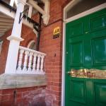Oglee Guesthouse front door